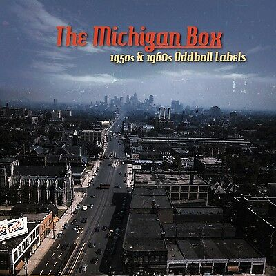 The Michigan Box -1950's & 1960's Oddball Labels  10-CD Box Set BE Sharp Records