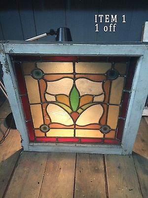 Stained Glass Windows In Three Designs