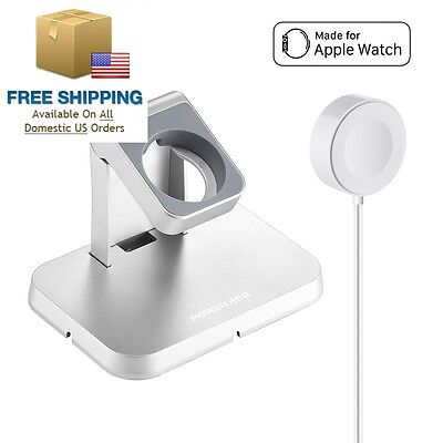 [ Apple MFi Certified ] Watch Charger, Poweradd Magnetic Charging Dock and...