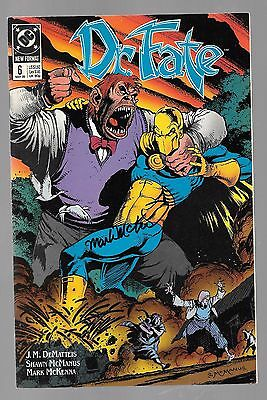 DR FATE 6 SIGNED BY MARK MCKENNA Eric Strauss Linda Nabu Typhon Lords of Chaos