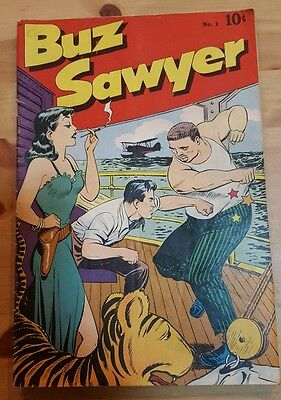 Buz Sawyer #1 (1948) GOOD CONDITION