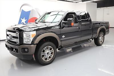 2016 Ford F-250  2016 FORD F250 KING RANCH CREW 4X4 DIESEL NAV 20'S 19K #A31948 Texas Direct Auto