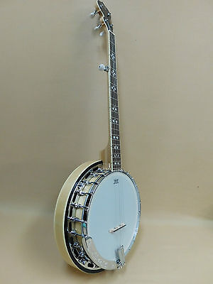 Caraya 'Blue Mount' Series BJ5M 5-String Banjo ALL MAPLE + Gig Bag