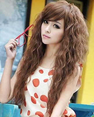 """24""""  Womens Girls Long Full Curly Wavy Synthetic Hair Cosplay Party Wigs"""