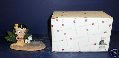 Character Collectibles Tropical Betty Boop Tealight- New in Box- #1011164