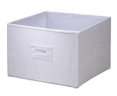 Wendy Bellissimo Baby & Kids Canvas Storage Bin White or Pink, 19in x 13in x13in