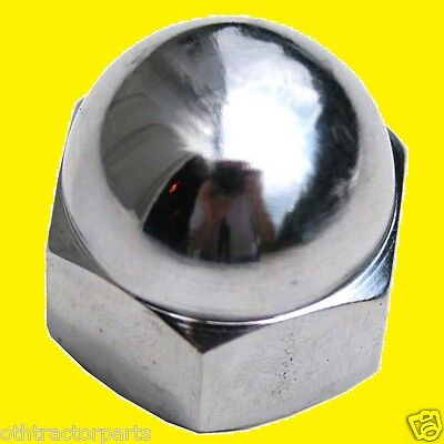 Massey Ferguson 195592M1 Chrome Steering Wheel Nut TO20 TO30 TO35 TE20 TEA20