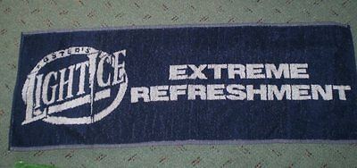 Old but unused toweling bar runner Fosters