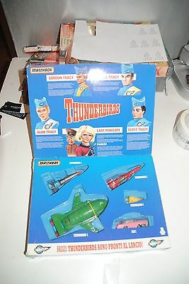 "Thunderbirds Matchbox "" Recue Pack ""1992  Mib  Nice Set"