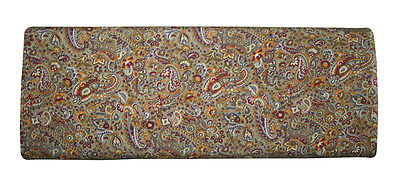 New Silk Fabric Paisley Print 5 Yard Fabric Jaipuri Print Silk Mix Cotton Fabric