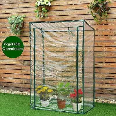 Walk In Greenhouse Garden Green House Plant House Shed PE Cover Apex Roof AU