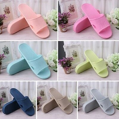 Unisex Summer Casual Slipper Indoor Floor Anti Slip Bathing Shower Shoes
