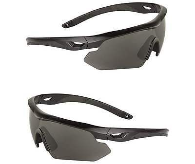Tact. Brille Swiss Eye®Nighthawk Wechels., Brille, Outdoor, Security       -NEU-