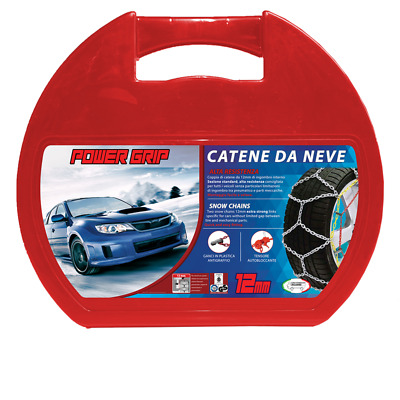 Catene da Neve Power Grip 12mm Omologate Gr. 130 per pneumatici 235/55r17 BMW X3