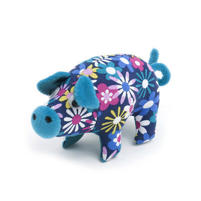 S&W Collection PCP278 | Pig Pin Cushion | 5 x 15 x 7cm | Flowers-a-Plenty