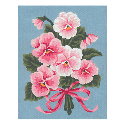 COLLECTION D'ART | Printed Canvas: Pink Floral Bouquet |CD3143