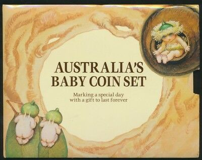 Australia 1994 Baby Uncirculated RAM set Wide Date RARE!!!