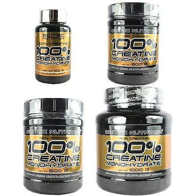 Scitec Nutrition 100% Pure Creatine Monohydrate Powder 100g/300g/500g/1kg