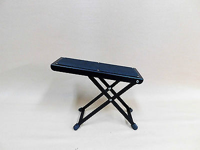 TWO (x2) Haze J-46 Guitar Practice / Performance Foot Rest Stools – Collapsible