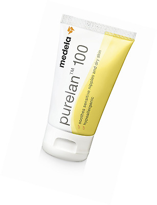Medela Purelan Pure Lanolin Hypoallergenic Nipple Cream 37g Sore Cracked Nipples