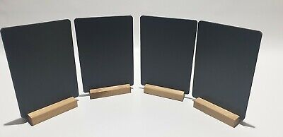 A5 Table Top Chalkboards Blackboard  For Use With Liquid Chalk Pens + P