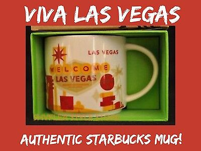 Starbucks Las Vegas You Are Here Coffee Mug Cup YAH Collection