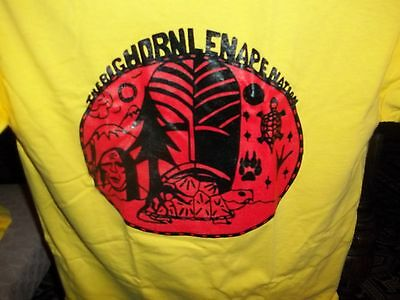 Big Horn Lenape T-shirt/ Yellow  -  Xtra Large