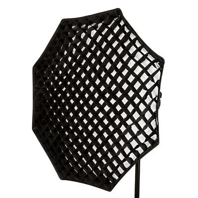 PIXAPRO Elinchrom Fit 120cm Octagon/Octagonal Softbox 5cm Honeycomb Grid Octabox