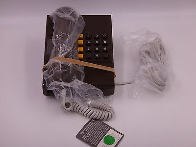 Boxed and unused Brown BT Ambassador 1980s Telephone