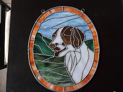Brittany- Original design Stained Glass Panel by Ingrid Jonsson