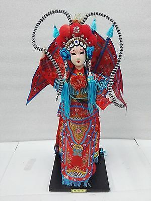 Chinese Traditional Peking Opera Doll MU GuiYing Doll Handicraft