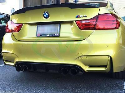 Real Carbon Bmw F82 Spoiler 4 Series Boot Trunk M4 Csl Rear Lip Coupe