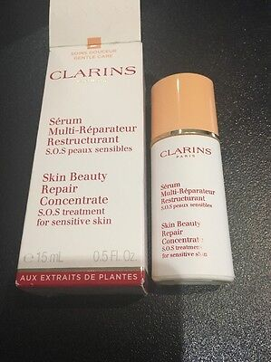 Clarins S.o.S Skin Beauty Repair Concentrate Treatment For Sensitive Skin 15ml