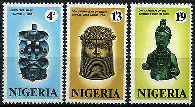 Nigeria 1971 SG#260-2 Antiquities MNH Set #D55673