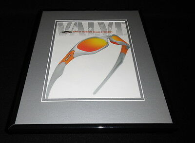2003 Oakley Valve Sunglasses 11x14 Framed ORIGINAL Advertisement