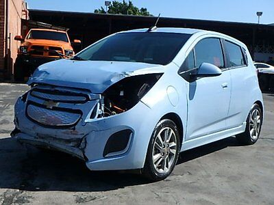 2016 Chevrolet Spark EV LT 2016 Chevrolet Spark EV LT HB Wrecked Salvage Perfect Commuter Nice Color L@@K!