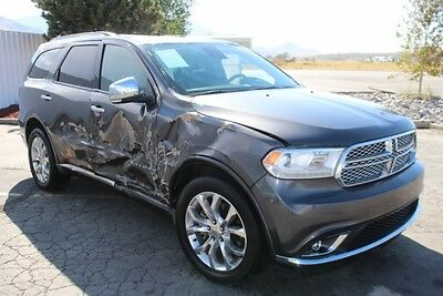 2016 Dodge Durango AWD Citadel 2016 Dodge Durango AWD Citadel Damaged Salvage Priced to Sell Wont Last L@@K!