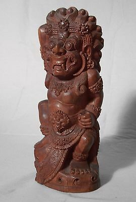 Southeast Asian hand carved wood figure c1900