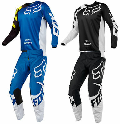 Fox Racing Youth 180 Race Dirt Bike Jersey & Pants Kit Combo MX ATV Off-Road 18
