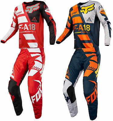 Fox Racing Kids 180 Sayak Dirt Bike Jersey & Pants Kit Combo MX ATV Off-Road 18