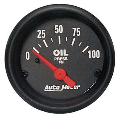 "Auto Meter 2634 Gauge Oil Pressure 2 1/16"" 100psi Electric Z Series"