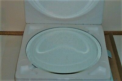 "Partylite 11"" Mirrored Round Tray In Original Box P90275  Mirror"