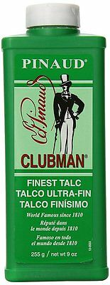 Clubman Pinaud Finest Talc Powder, 9 Ounce (Pack of 2)
