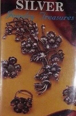 Silver Jewelry Price Guide Collectors Book Ring Necklace Earrings Brooches