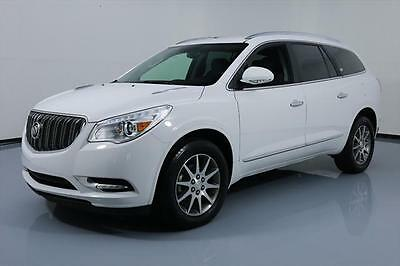 2017 Buick Enclave Leather Sport Utility 4-Door 2017 BUICK ENCLAVE HTD LEATHER REAR CAM 7-PASENGERS 32K #153810 Texas Direct