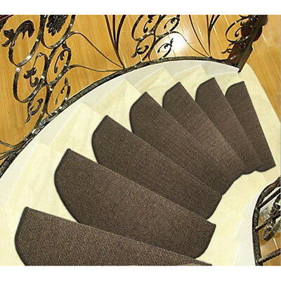 Door Sector Mats Household Stair Treads Step Carpet Non-slip Step Rugs AS