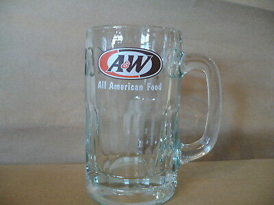 """A&W Rootbeer All American Food Mug  Very Heavy  6"""" tall  Sturdy Thick Handle"""