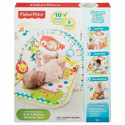 NEW Fisher-Price Colourful Carnival Gym