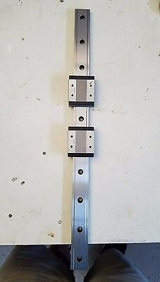 THK SHW14 linear bearings and rail