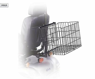 Drive Medical Mobility Scooter Rear Basket Accessory - Universal Fit